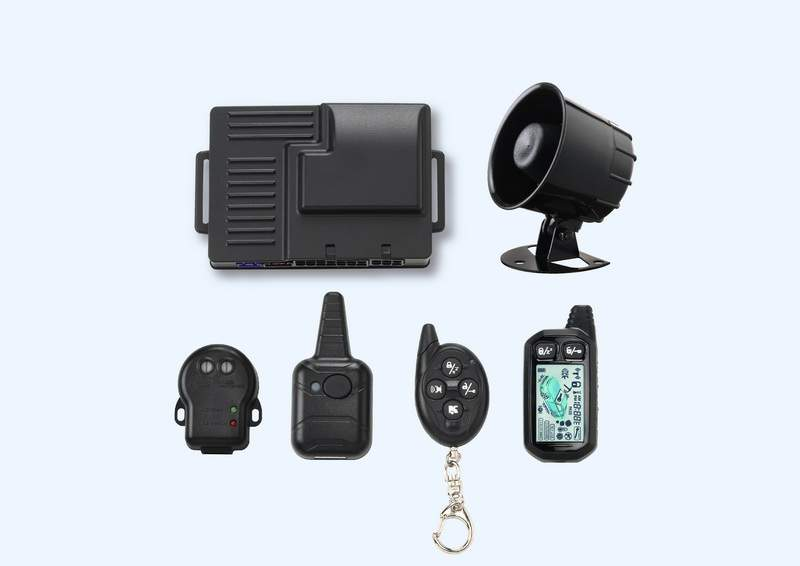 CAR-8060 2-Way Car Alarm System