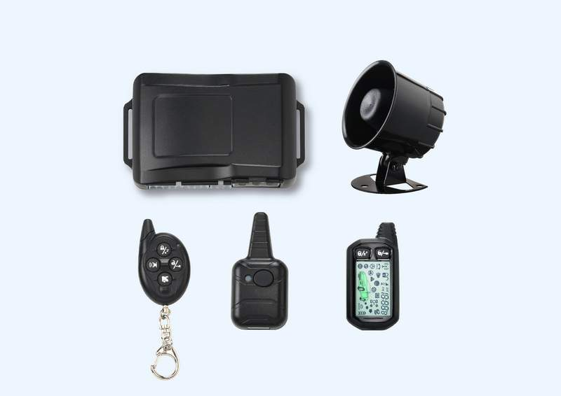 CAR-8000 2-Way Remote Starter Car Alarm System