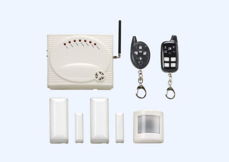 HM-600 2 Way LED Home Alarm System