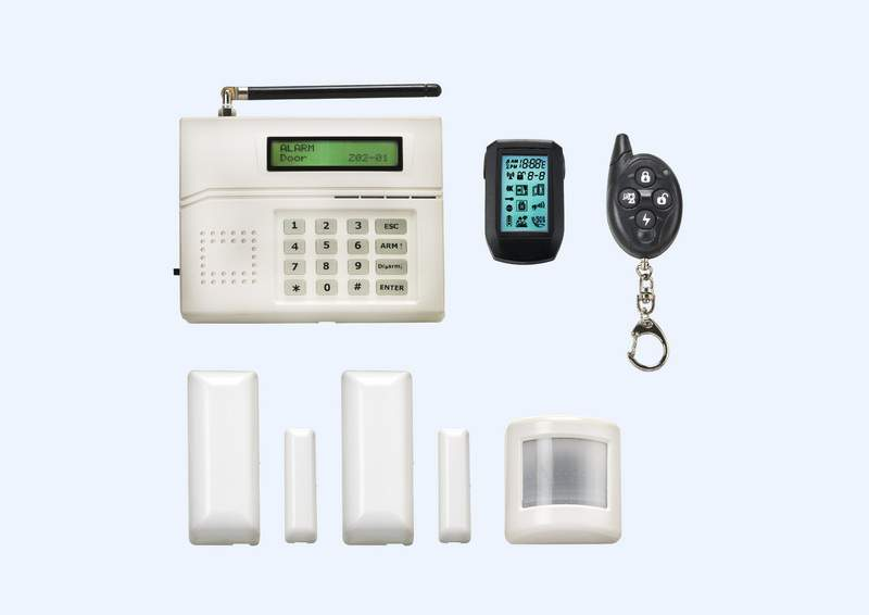 HM-700 2 Way LED Home Alarm System