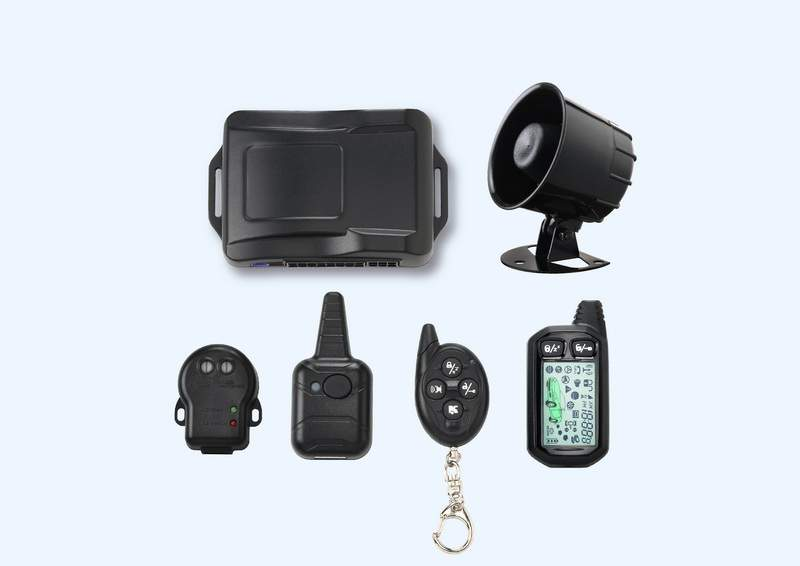 CAR-8020 2-Way Car Alarm System